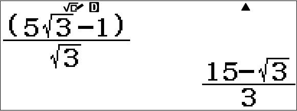 Calculs numériques fx-92+ Spéciale Collège