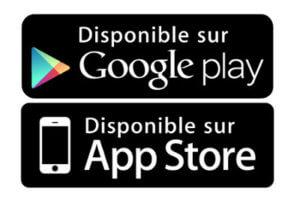 Disponible sur Google Play - Disponible sur App Store