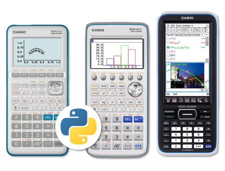 Calculatrices mises à jour