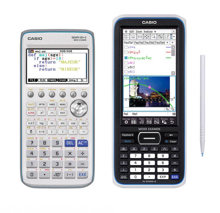 Graph 90+E Fx CP400+E