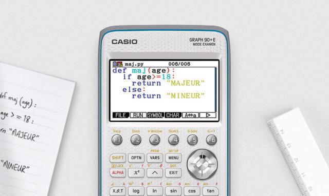 Calculatrices graphiques CASIO
