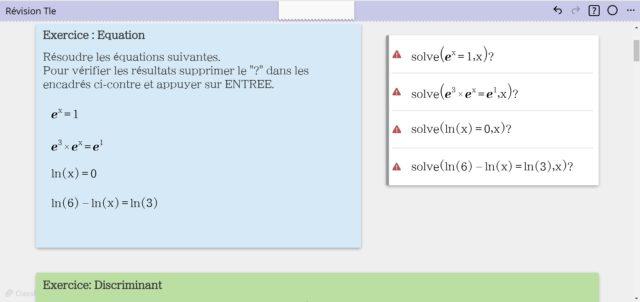 Révisions Tle_ClassPad.net.